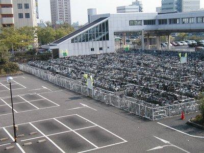 自転車置き場-駐輪場