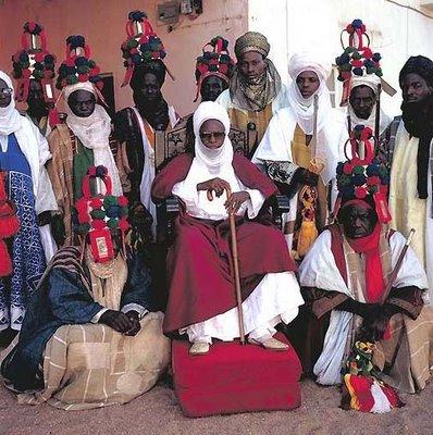 アフリカの部族の王や族長たち04