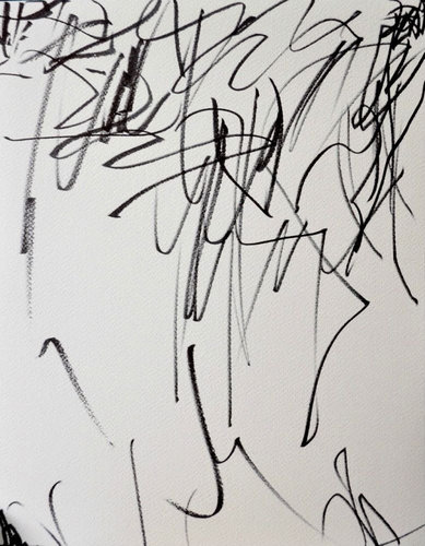 2歳の娘が描いた落書きを母親が水彩画に02