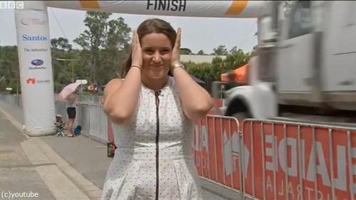 オーストラリアの自転車レースフィニッシュ02