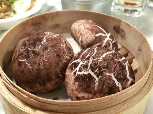 マッシュルームの蒸しパン01