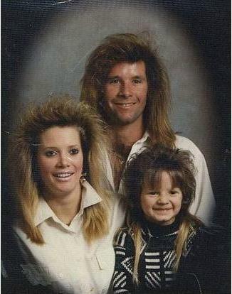80年代の髪型21