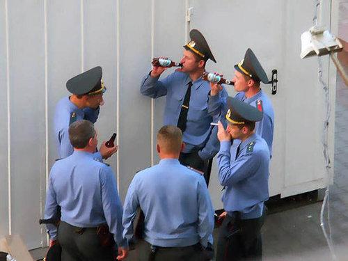 ロシアの警官06