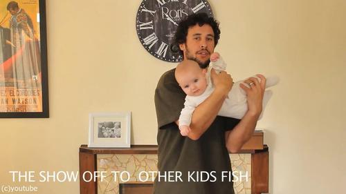 「赤ちゃんの抱き方」17