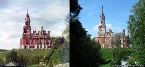ロシア帝国時代の写真と現在14