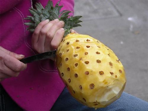 皮をむいた果物10