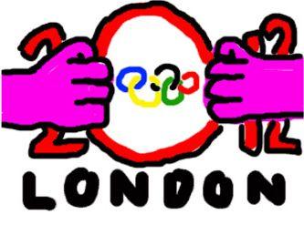 ロンドン五輪のロゴ03