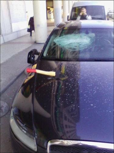 ロシアで車の警報機が一晩中鳴った結果08