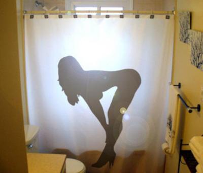 面白シャワーカーテン11