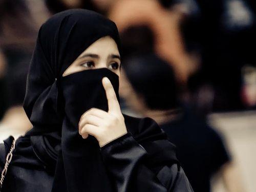 サウジアラビアの女性
