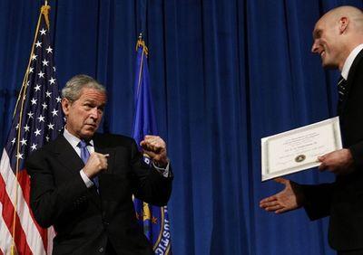 ブッシュ大統領10
