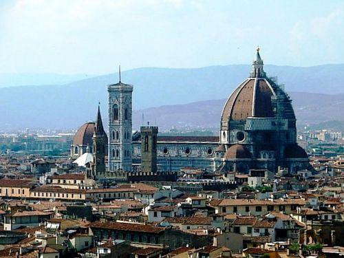 フィレンツェの大聖堂の模様00