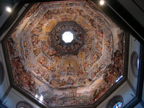 フィレンツェの大聖堂の模様06
