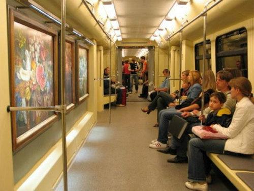 ロシアの地下鉄08