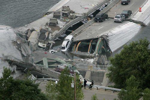 ミネソタの橋の事故20