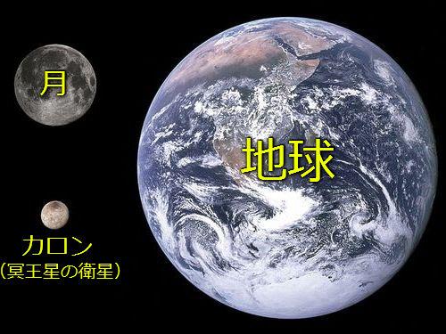 冥王星の衛星カロン00