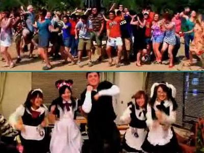 世界中でメイドも子供もマット・ハーディングと踊る