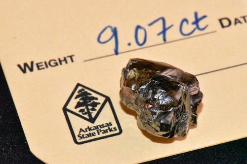 9カラットのダイヤモンドを発見01