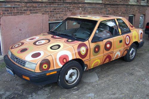 23アートな自動車