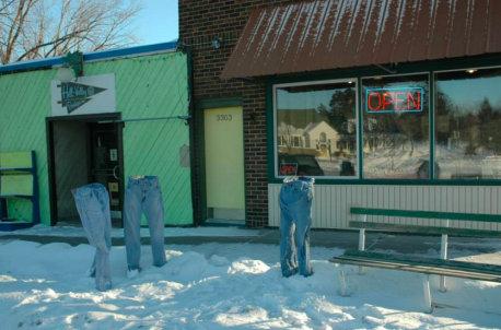 アメリカでジーンズを凍らせる遊び04