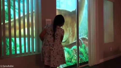 恐竜好きな娘のためにお父さんが作った装置がガチすぎる03