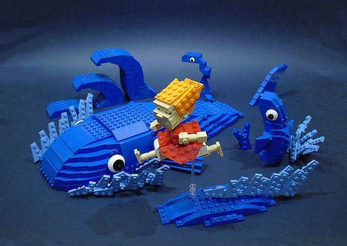 レゴでジブリ01