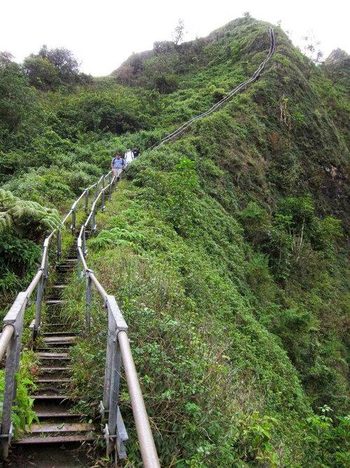 ハワイの天国への階段01