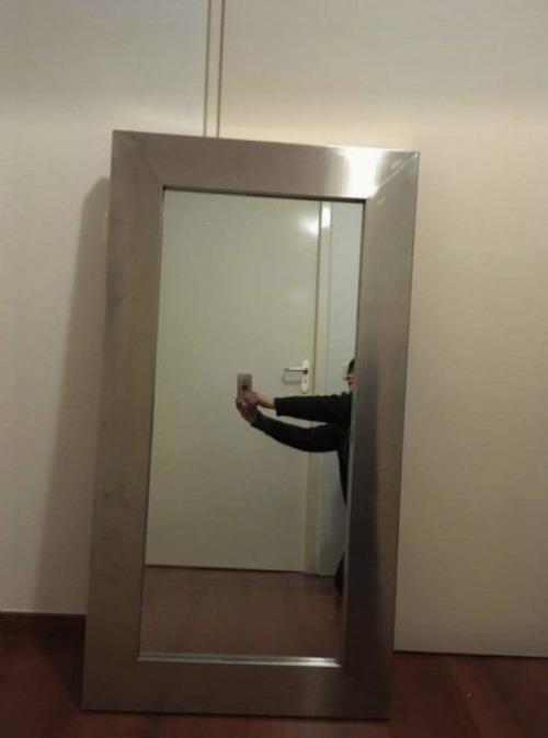 ネットで鏡の出品01