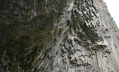 アルメニアの柱状節理04