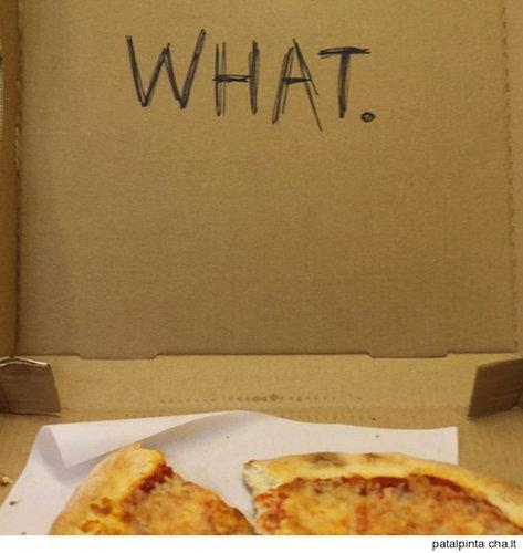 ピザのデリバリーの絵14
