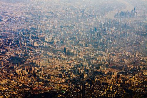 上空から見た都市14