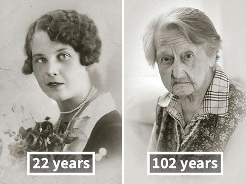100歳越えの人の若い頃07