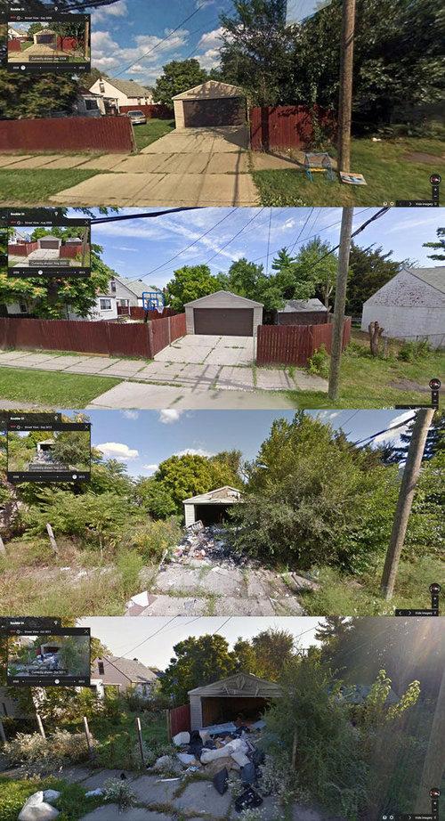 デトロイトのストリートビュー04