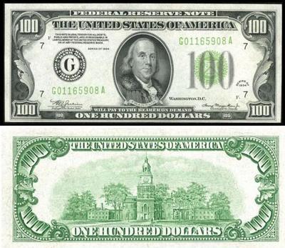 100ドル札 05-1934