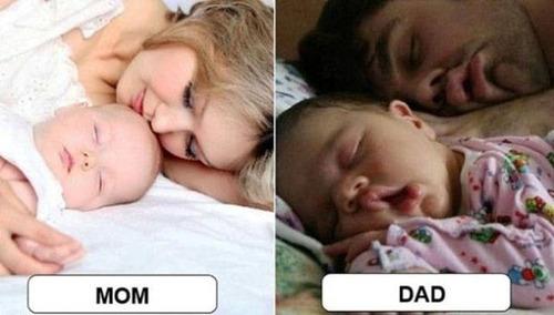 パパとママ、育児の違い01