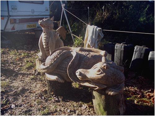 チェーンソー彫刻14