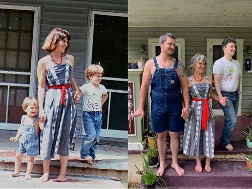 30年以上たっての家族写真01