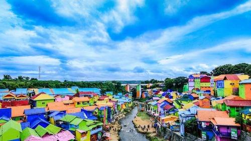 インドネシアのスラム10