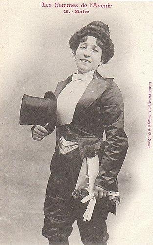 100年前に想像した未来の女性像19