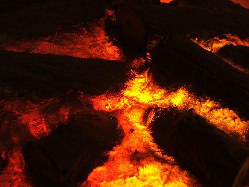 溶岩でバーベキュー00