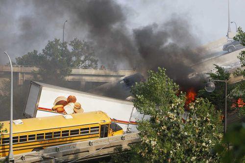ミネソタの橋の事故09