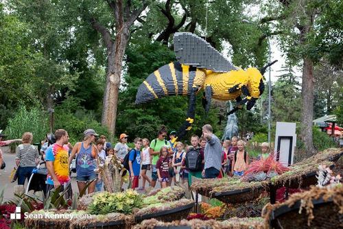 サンアントニオ動物園がレゴの動物を展示04