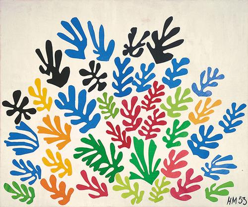 アンリ・マティス「ラ・ジェルブ」(1953)