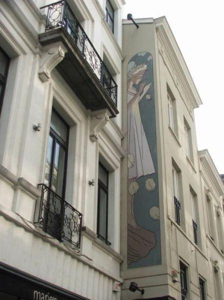 ベルギー・ブリュッセルに描かれたコミックス・グラフィティ19