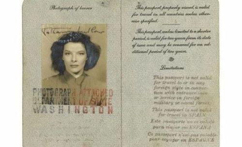 歴史上の有名人のパスポート17