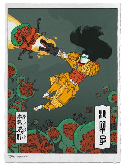 浮世絵ヒーロー09