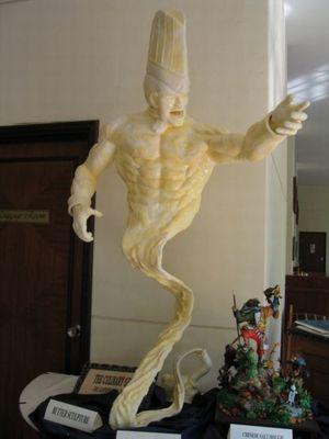 バター彫刻05