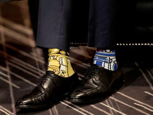 カナダ首相の靴下04