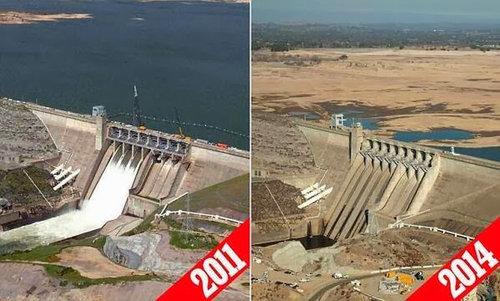カリフォルニアの干ばつ、ビフォー・アフター02