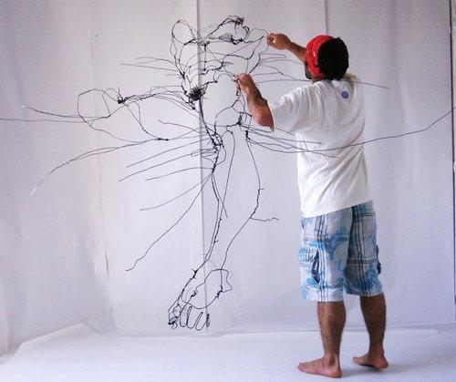 ワイヤー・アート02